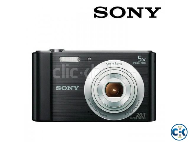 SONY DSCW800 B 20.1 MP Cyber-shot Digital Camera Black  | ClickBD large image 2