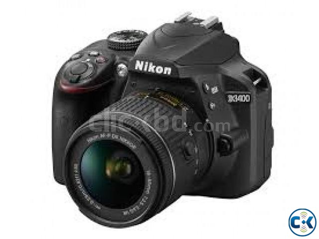 Nikon D3400 Burst Shooting 24MP FHD Digital SLR Camera | ClickBD large image 0