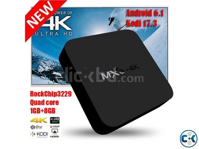 MXQ-4K Android 6.0 Quad Core Smart TV Box   ClickBD large image 0