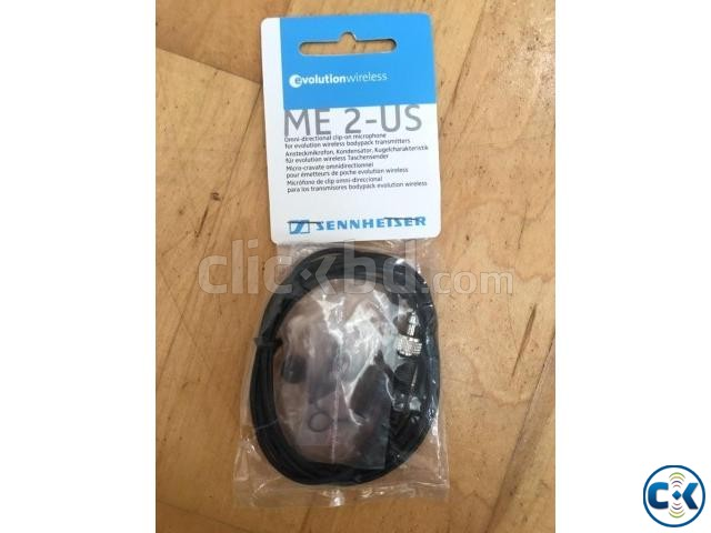Sennheiser ME 2 Omni-directional Lavalier Microphone | ClickBD large image 0