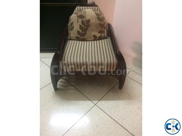 Sofa set- Wood with liquor polish 2 2 1 pcs  | ClickBD large image 0