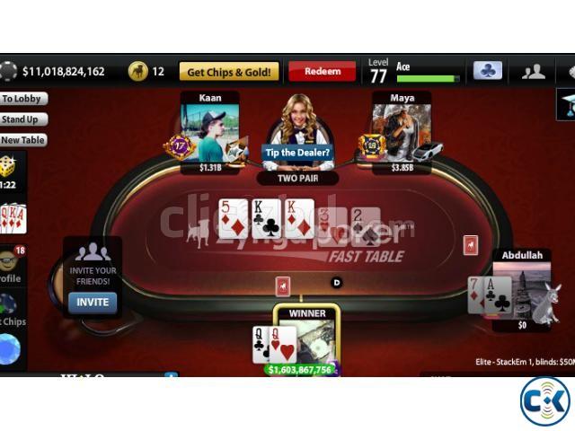 zynga poker chips 2000 taka billion | ClickBD large image 0