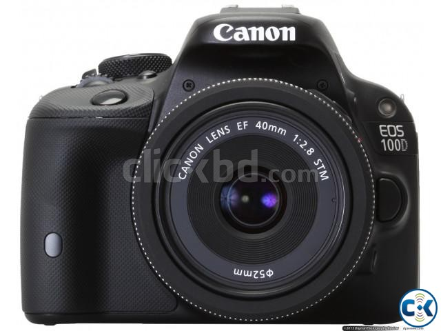 Canon EOS 100D Full HD 18MP Touchscreen DSLR Camera | ClickBD large image 0