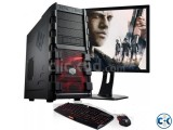 Winter Offer Core i5 pc with 19 Led
