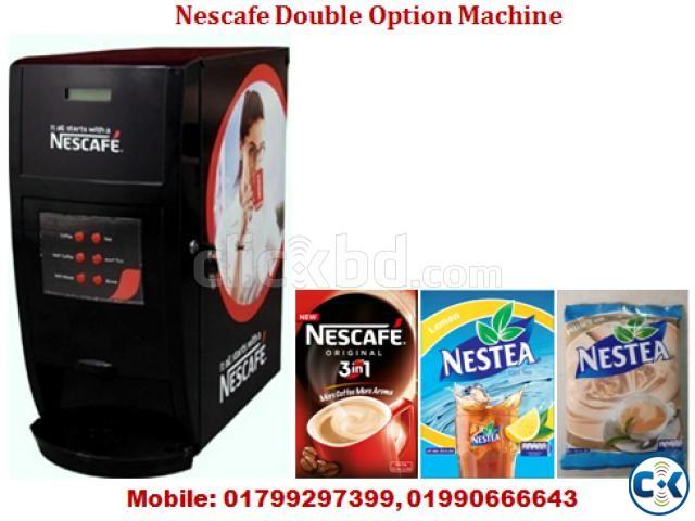 Nescafe Double Hot Option Machine | ClickBD large image 0