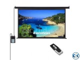 Electric Remote Projector Screen 70 X 70