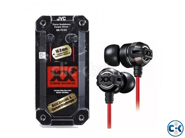 JVC HA-FX3X Headphone Extreme Deep Bass  | ClickBD large image 0