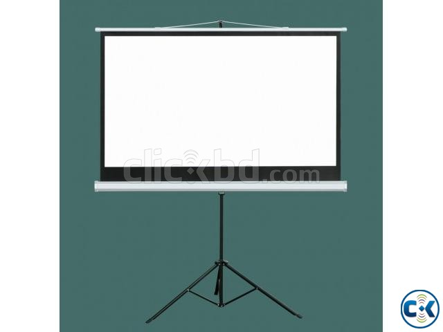 Tripod Projector Screen 70 x 70  | ClickBD large image 0