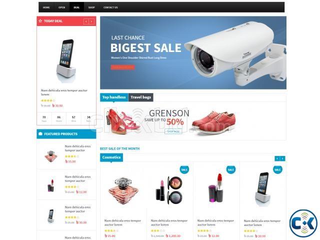 Ecommerce Website Design in BD | ClickBD large image 0