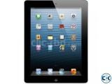 iPad 4th Gen 16GB Wi-Fi Cellular Verizon Black