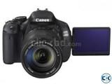 Canon EOS 600D 18MP CMOS 3 LCD Digital SLR Camera