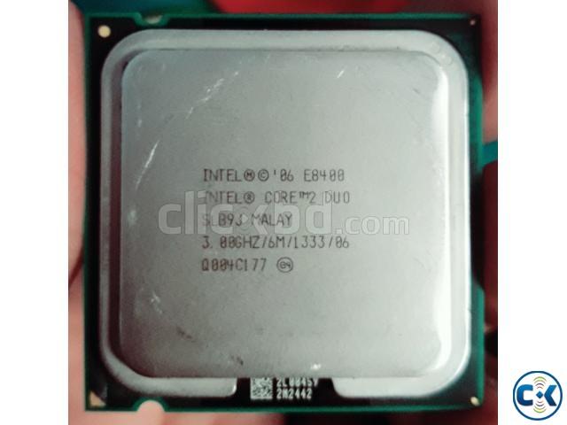 Intel Core 2 Duo E8400 3.00 GHz Desktop Processor | ClickBD large image 0