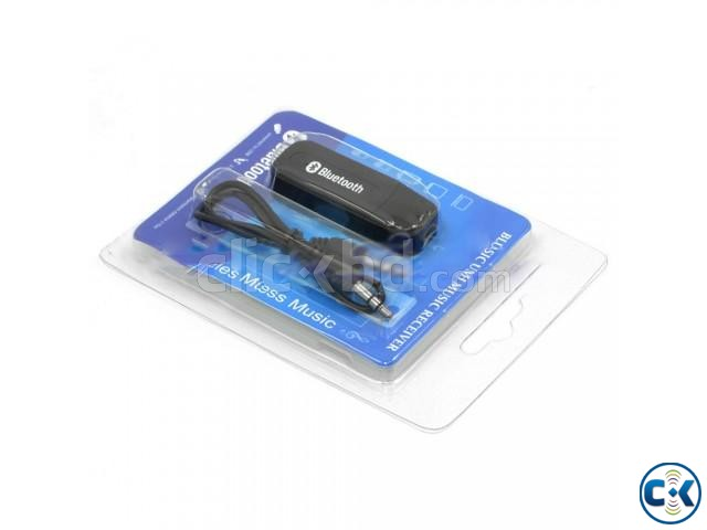 Bluetooth Music Receiver Black | ClickBD large image 0