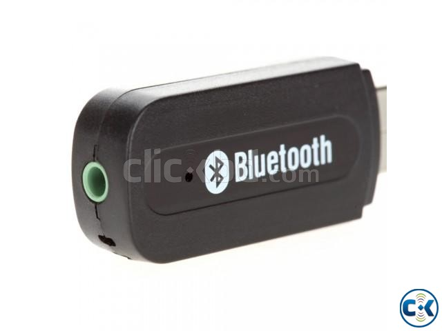 Bluetooth Music Receiver Black | ClickBD large image 2
