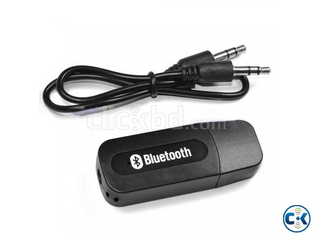 Bluetooth Music Receiver Black | ClickBD large image 3