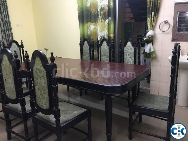 Dining table with 8 chairs | ClickBD large image 2