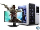 NEW PC Core i3 4GB 320GB 17 LED