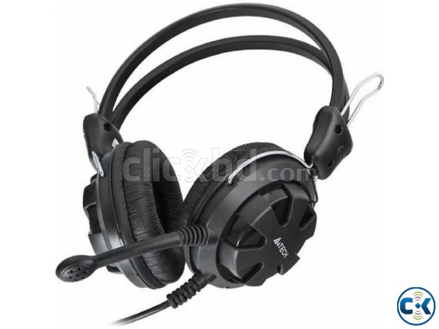 A4Tech HS-28 Stereo Headset With Microphone | ClickBD large image 0