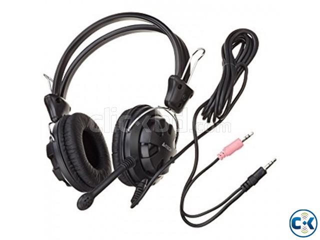 A4Tech HS-28 Stereo Headset With Microphone | ClickBD large image 2