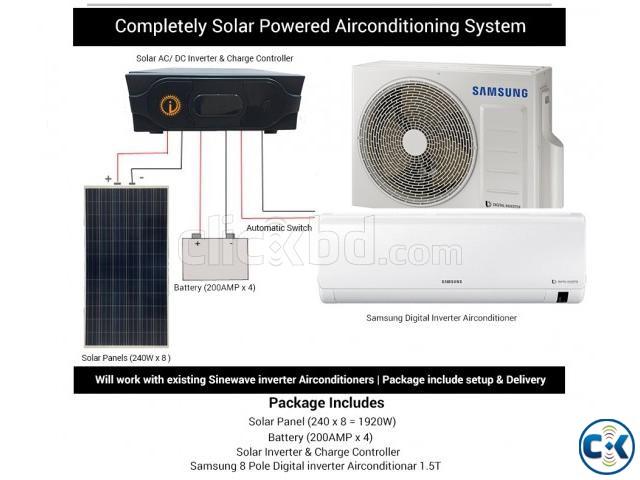 Solar air conditioner | ClickBD