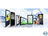 Advertisement Display Touch Kiosk for Rent or Sale