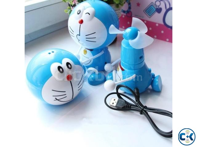 Angin Mini Fan Karakter Doraemon Doremon | ClickBD large image 0
