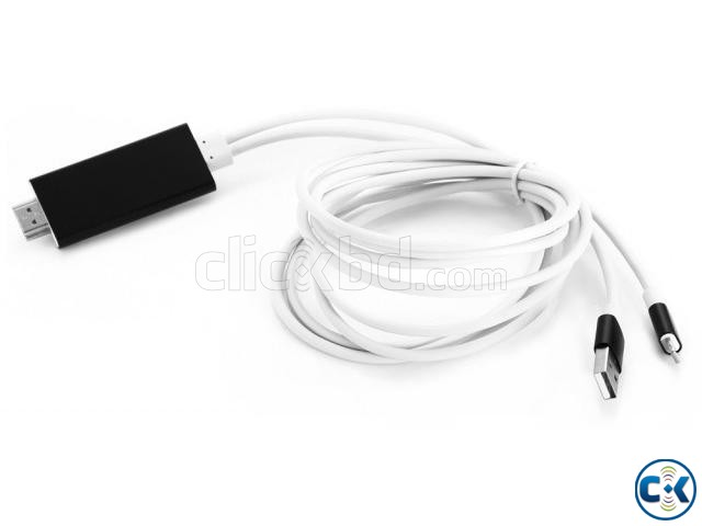 HDTV cable for iphone | ClickBD large image 1