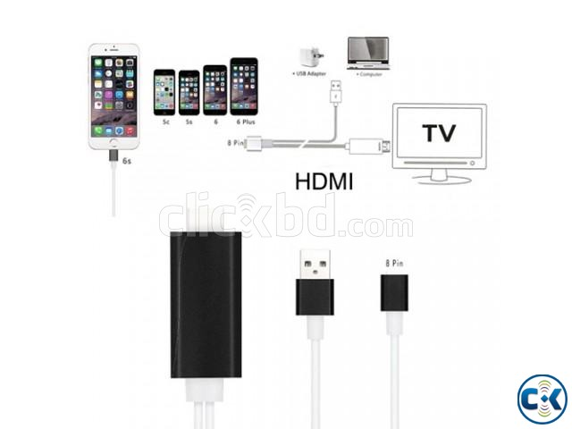 HDTV cable for iphone | ClickBD large image 3