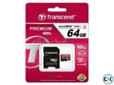 TRANSCEND 64 GB Memory card