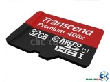 TRANSCEND 32 GB Memory card