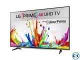 LG UF640T 49 Inch IPS Panel Triple XD Engine Smart 4K TV
