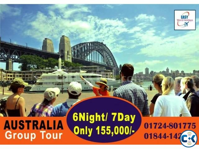 AUSTRALIA GROUP TOUR. MELBOURNE SYDNEY 6 night 7 days  | ClickBD large image 0