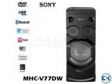 Sony MHC-V77DW Mini Hi-Fi System NEW ARRIVAL