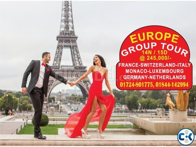 EUROPE GROUP TOUR 14 NIGHT 15 DAYS  | ClickBD large image 0