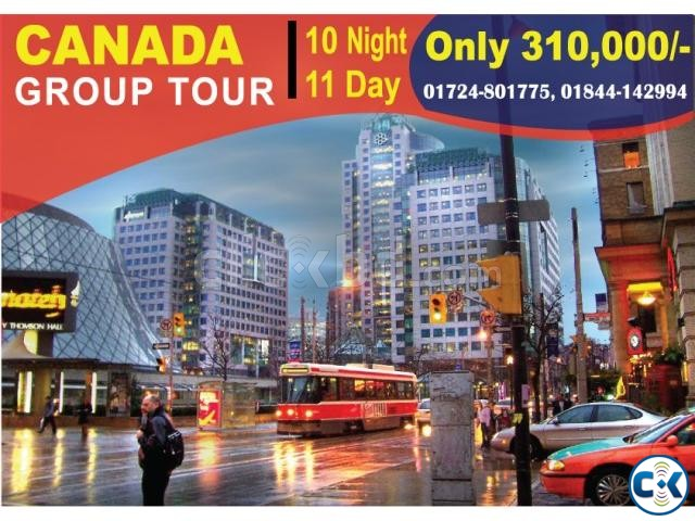 CANADA GROUP TOUR 10 night 11 day  | ClickBD large image 0