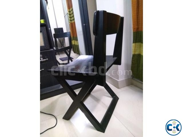 Dressing Table Wooden Chair | ClickBD large image 0