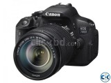 Canon EOS 700D DSLR 18MP Camera with 18-55mm Lens