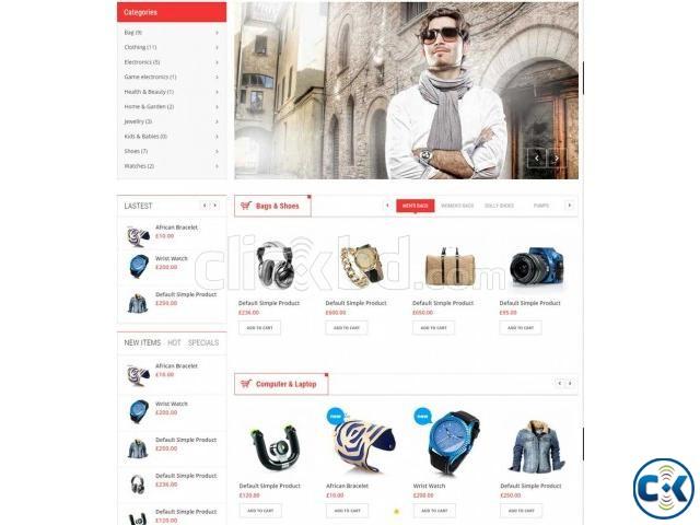 E-Commerce Business Website | ClickBD large image 0