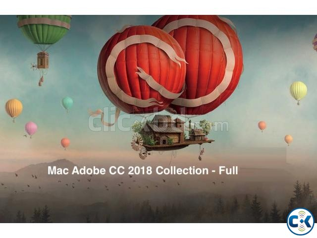 Adobe Master Collection CC 2018 for MACOS - 5DVDs | ClickBD large image 0