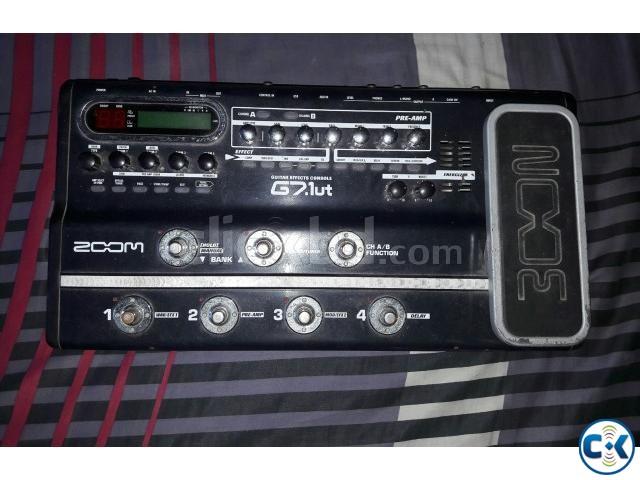 Guitar Processor Zoom g7.1ut | ClickBD large image 0
