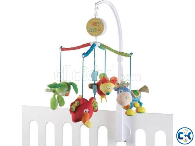 Bed Bell Toy with Music- Multicolour | ClickBD large image 1