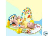 Fisher Price Music Playmat Piano Kick And Play - Multicolour