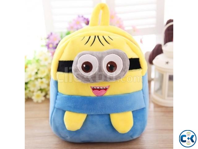 Cartoon small yellow People Children bag | ClickBD large image 0