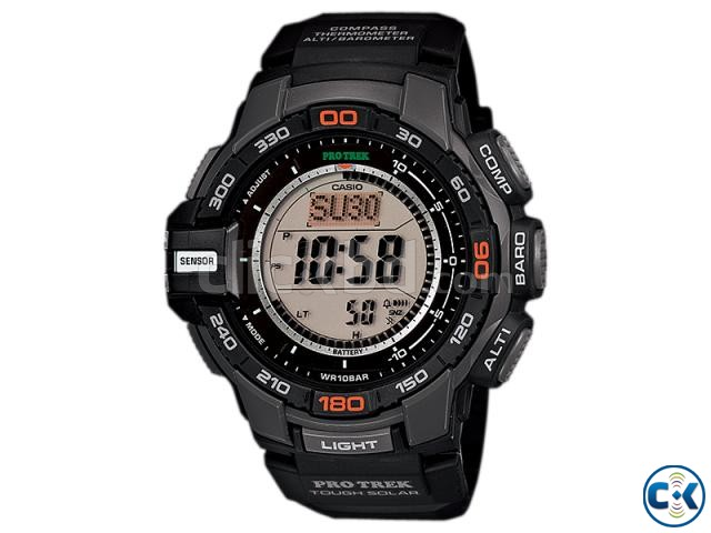 Casio Men s PRG-270 Pro Trek Triple Sensor Multifunction Di | ClickBD large image 1