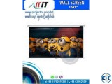 150 Diag. 90x120 Wall Ceiling Projector Screen