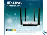 AP-LINK N300 WIRELESS-N BROADBAND ROUTER