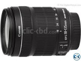 Canon EF-S 18-135mm f 3.5-5.6 IS DSLR Camera Lens