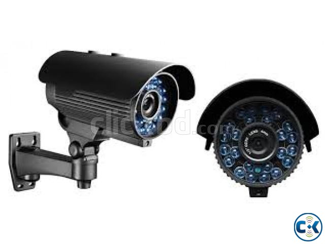 CC Camera 08Pcs 08Ch DVR Full Package | ClickBD large image 3