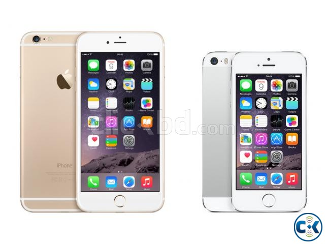 APPLE I-PHONE 5S 16GB SILVER COLOR | ClickBD large image 2