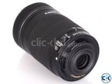 Canon EF-S 55-250mm f 4-5.6 IS Lens with Image Stabilization